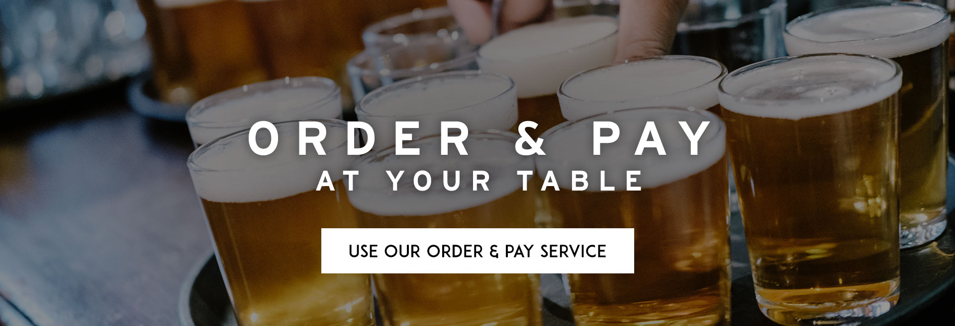 Order at Table at The Phoenix