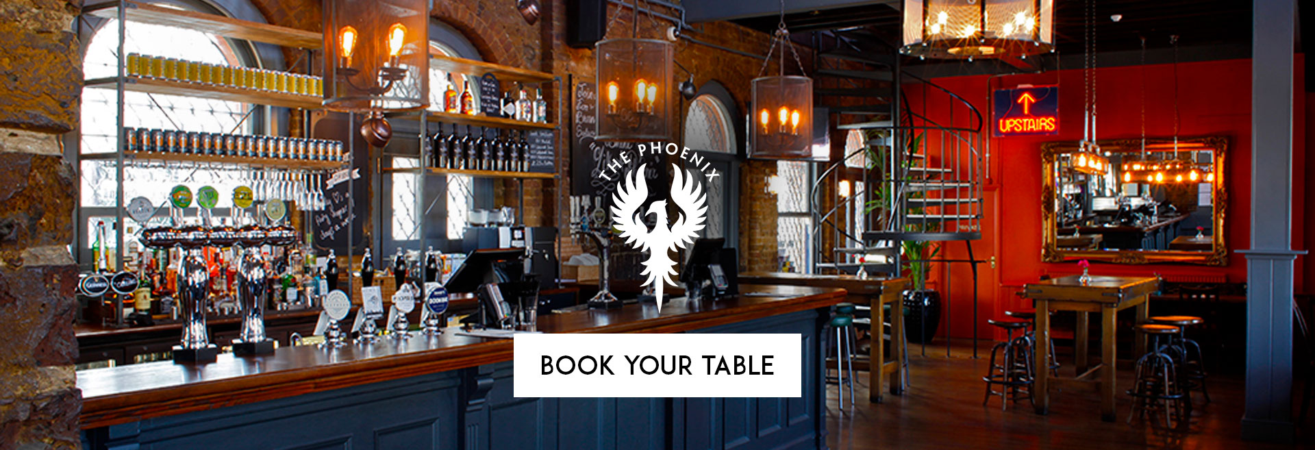 Book Your Table at The Phoenix